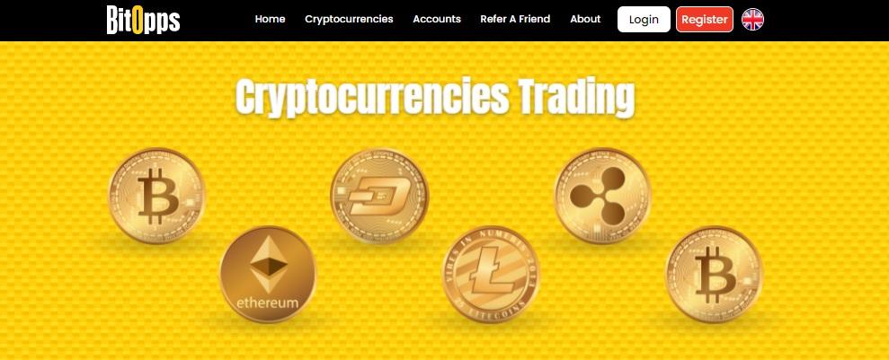 BitOpps Trade Many Digital Assets